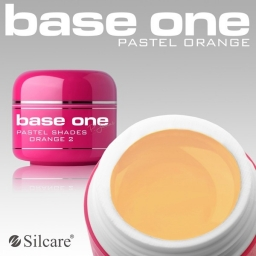 Żel UV Base One Pastel Orange 5 g.