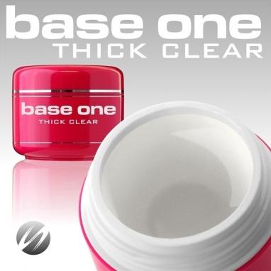 Żel  UV Base One  Thick Clear 15g