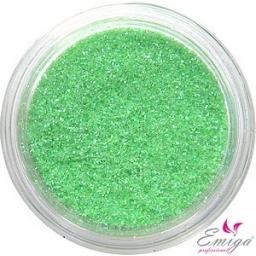 Brokat Zielony Jasny Hologram 0.2 mm. 5 ml