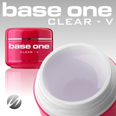 Żel jednofazowy UV Base One Clear V 30g