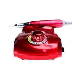 Frezarka Do Manicure i Pedicure DR 318 Czerwona + Frezy
