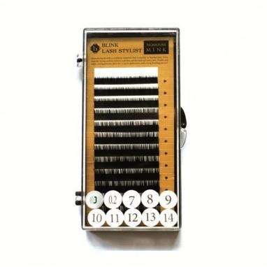 Rzęsy Mink. J 0,20 Mix 7-14 mm.