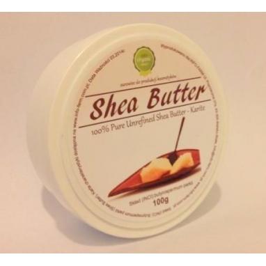 Masło Shea Nierafinowane 100%. Pojemność 100g