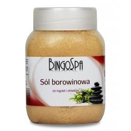 Sól Borowinowa do Kąpieli i Okładów BingoSpa 1350 g