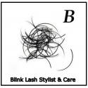 Rzęsy  Jedwabne Profil B. Grubość 0,25. Dlugość 11 mm. Blink Lash Stylist & Care.
