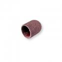 Kapturek papierowy ścierny do frezów gumowych typu stożek - 13 mm gradacja 80 BRĄZOWY