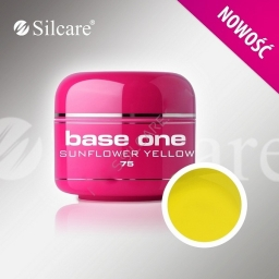 Base One Color Gel  Sunflower Yellow 5 g
