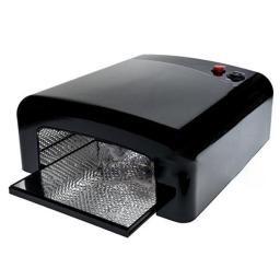 Lampa UV 36 Watt Kwadratowa Czarna + 4 żarówki