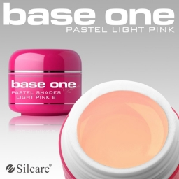 Żel UV Base One Pastel Light Pink 5 g.