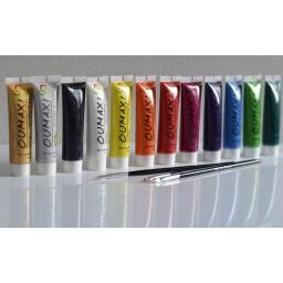 Farbki Akrylowe Do Zdobień 12 szt