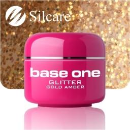 Żel Glitter Gold Amber 5g