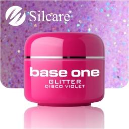 Żel Glitter Disco Violet 5g