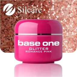 Żel Glitter Romance Pink 5g