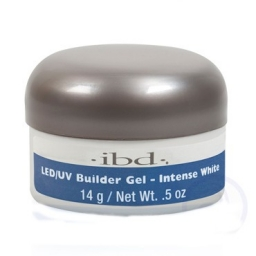 IBD LED/UV BUILDER GEL 14 GRAM INTENSE WHITE