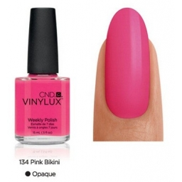 CND VINYLUX Lakier 7 Dniowy Pink Bikini Nr 134