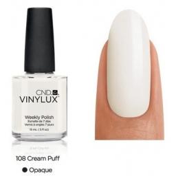 CND VINYLUX Lakier 7 Dniowy Cream Puff Nr 108