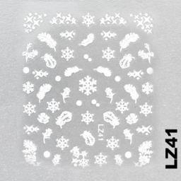 Naklejka 3 D Na Paznokcie LZ41