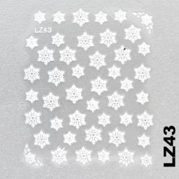 Naklejka 3 D Na Paznokcie LZ43