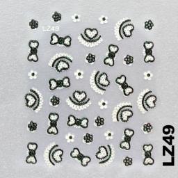 Naklejka 3 D Na Paznokcie LZ49