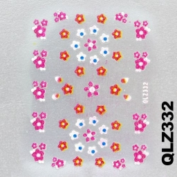 Naklejka 3 D Na Paznokcie QLZ332