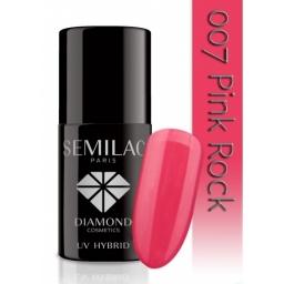 Lakier hybrydowy Semilac 007 Pink Rock - 7 ml