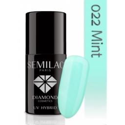 Lakier hybrydowy Semilac 022 Mint - 7 ml