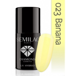 Lakier hybrydowy Semilac 023 Banana - 7 ml