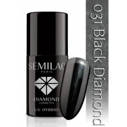 Lakier hybrydowy Semilac 031 Pure Black - 7 ml