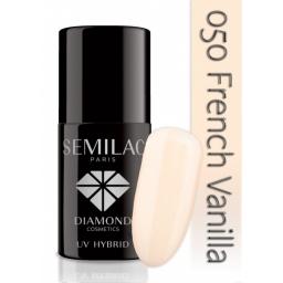 Lakier hybrydowy Semilac 050 French Vanilla - 7 ml
