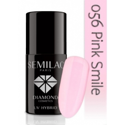 Lakier hybrydowy Semilac 056 Pink Smile - 7 ml