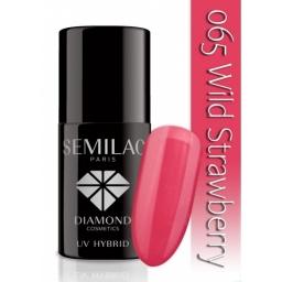 Lakier hybrydowy Semilac 065 Wild Strawberry - 7 ml