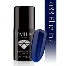 Lakier hybrydowy Semilac 088 Blue Ink - 7 ml