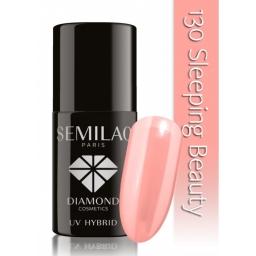 Lakier hybrydowy Semilac 130 Sleeping Beauty - 7 ml
