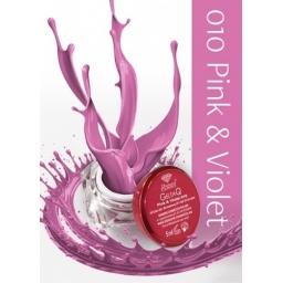 Żel UV kolor GeltaQ 010 Pink&Violet