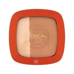 Loreal Paris Glam Bronze Duo  Nr 101 Puder Brązujący 9 g