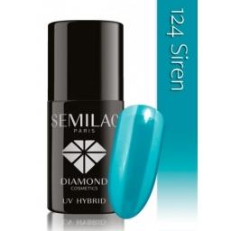 Lakier hybrydowy Semilac 124 Siren - 7 ml