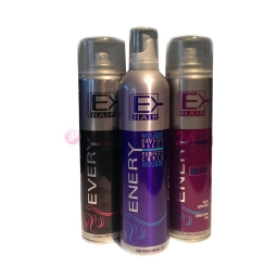 Lakier w Spray Enery Hair Spray bez Gazu Bardzo Mocno Utrwalający