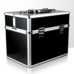 Kuferek rozkładany jednoczęściowy na lampę LCD lub UV - czarny