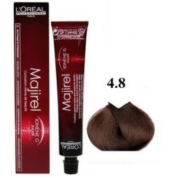 L'OREAL - MAJIREL NR 4.8 KREM KOLORYZUJĄCY 50 ml