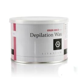 SIMPLE USE - WOSK DO DEPILACJI Z GRECJI - TITANIUM - PUSZKA 400 ml.