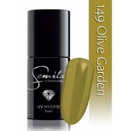 Lakier hybrydowy Semilac 149 Olive Garden - 7 ml.