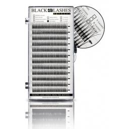 Black Lashes Express W-Lashes B 0,15 x 10 mm
