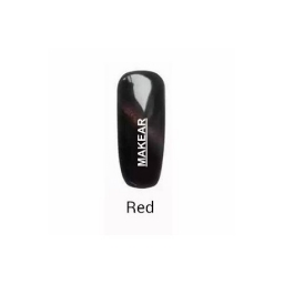 Makear Cat Eye TOP Red 8 ml.