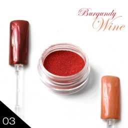 METAL MANIX - Burgundy Wine