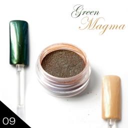 METAL MANIX - Green magma