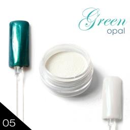 METAL MANIX - Green opal