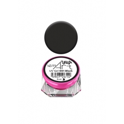 Semilac® UV Gel Semi-Art 001 Black - 5 ml