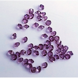 09 Kryształki Do Zdobień Fioletowe 2 g.