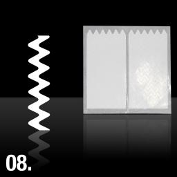 08. SZABLONY DO MALOWANIA FRENCHA/WZORÓW - NAKLEJKA
