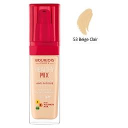 BOURJOIS HEALTHY MIX 53 BEIGE CLAIR 30 ML.
